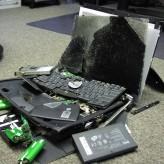 Pad hard diska, mehaničko oštećenje