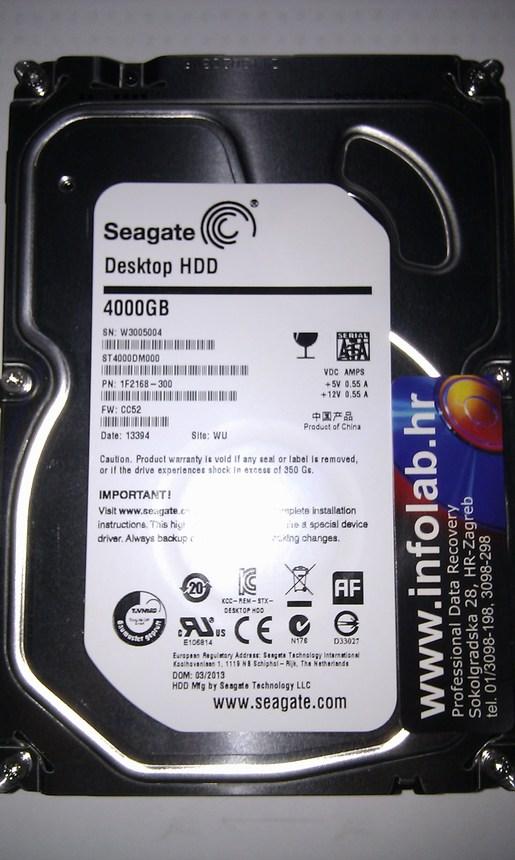 Spašavanje podataka sa 4 TB disk