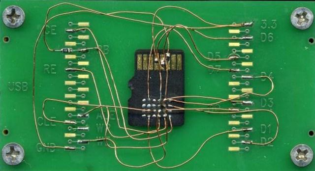 Monolithic Micro SD flash spašavanje podataka
