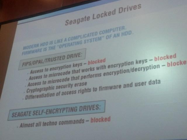 Seagate, vraćanje pdoataka, kriptacija